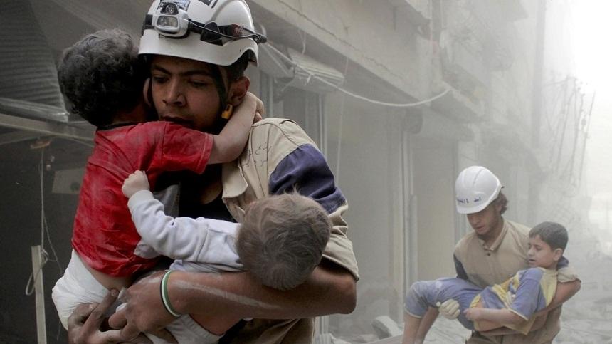 شبكة حقوقية: مقتل أكثر من 10 آلاف مدني بسوريا في 2017