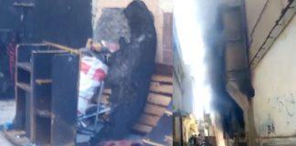 بالفيديو والصور.. فاجعة بسلا: أب يقدم على حرق داره وابنته بداخلها
