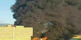 حريق مهول بالحسيمة وطائرات تشارك في الإطفاء