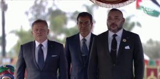 الملك عبد الله الثاني عاهل المملكة الأردنية يحل بالرباط في زيارة رسمية للمملكة