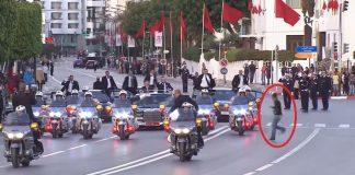 صحيفة فرنسية: الهجوم على موكب الملك محمد السادس بفرنسا خلف إصابة أحد حراسه بجروح على مستوى الرأس