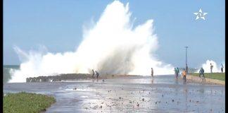 مديرية الأرصاد: السواحل الأطلسية ستعرف أمواجا تصل إلى 6 أمتار