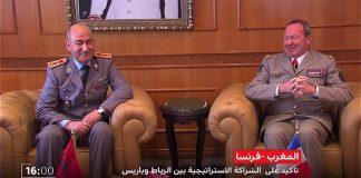 بالفيديو.. مباحثات مغربية فرنسية لتعزيز التعاون العسكري بين البلدين