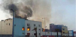 حريق سلا.. خسائر مادية بمئات ملايين الدراهم وتهدم بنايتين وتشريد عشرات الأسر