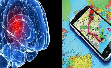 نظام تحديد المواقع قد يعطل أجزاء من المخ