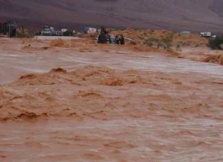 مصرع فتاة ومعلمة حامل بسبب فيضانات شيشاوة