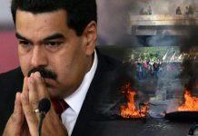 خطير.. مروحية تهاجم وزارة الداخلية ومبنى المحكمة العليا بفينزويلا