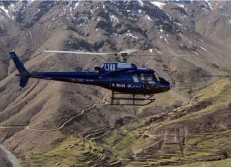 لأول مرة نقل مريض بمروحية بمدينة ميسور