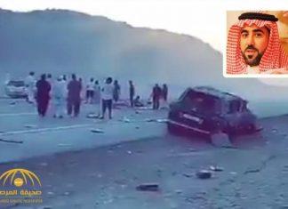 فيديو.. وفاة أمير سعودي في حادثة سير