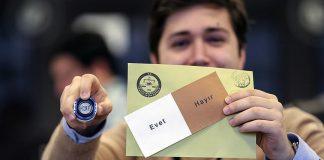 اللجنة العليا للانتخابات في تركيا تعلن النتيجة النهائية للاستفتاء