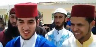 القارئان المغربيان اللذان احتلا الرتبة الأولى والثانية في المسابقة العالمية للقرآن الكريم بمصر
