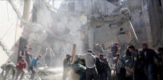 مقتل 14 مدني واستهداف مستشفى بقصف جوي على ريف إدلب