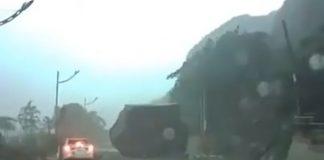 فيديو.. النجاة من السحق تحت صخرة ضخمة