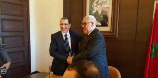 تسليم السلط بين بن كيران ورئيس الحكومة الجديد العثماني