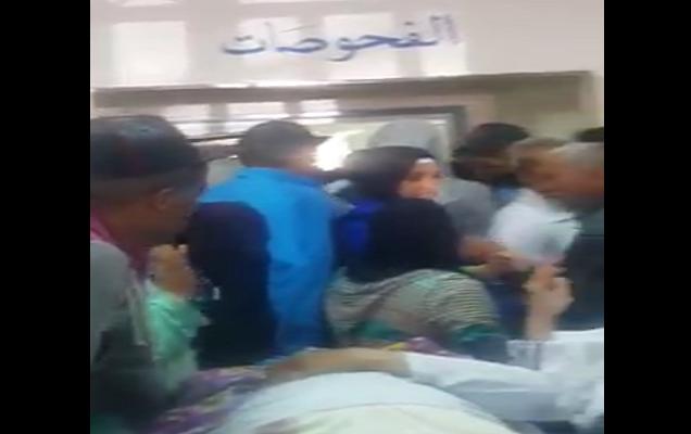 فيديو.. هذا حال مستعجلات مستشفى مولاي عبد الله بسلا (اكتظاظ وسوء تدبير)
