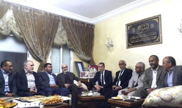 """المكتب التّنفيذي """"لحركة التّوحيد والإصلاح"""" في ضيافة الدّكتور سعد الدّين العثماني"""
