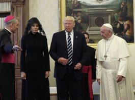 خلافا للسعودية الفاتيكان يفرض لباسا محتشما على ميلانيا وإيفانكا ترامب