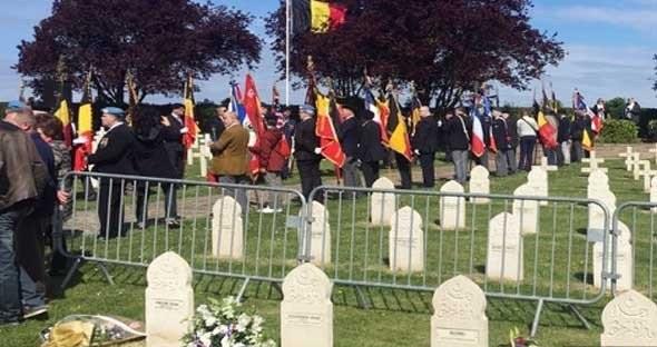 بلجيكا تكرم مئات الجنود المغاربة الذين ماتوا في سبيلها