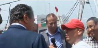 صياد بالحسيمة يصدم أخنوش ويقول له: ما عندي بو الوقت!!
