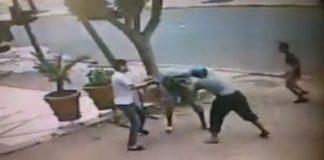 كاميرا مراقبة ترصد جانب من جريمة قتل التي وقعت أول رمضان ببرشيد