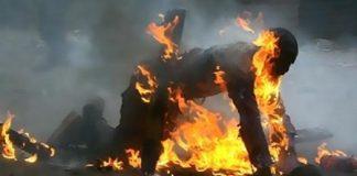 السلطات الأمنية تنجح في منع امرأة من الانتحار حرقا بطنجة