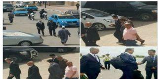 وفد وزاري يزور مدينة الحسيمة ويطوف بشوارعها.. ونشطاء في الفيسبوك يعلقون!!