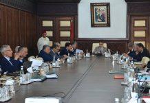 وزراء في حكومة العثماني يتناولون القرقوبي والكالة في المجلس الحكومي
