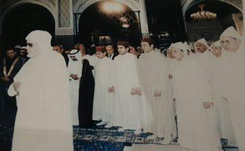 قصيدة عن القبض في الصلاة للشيخ سيدي محمد إمام مسجد (عين مديور) بنواحي تارودانت