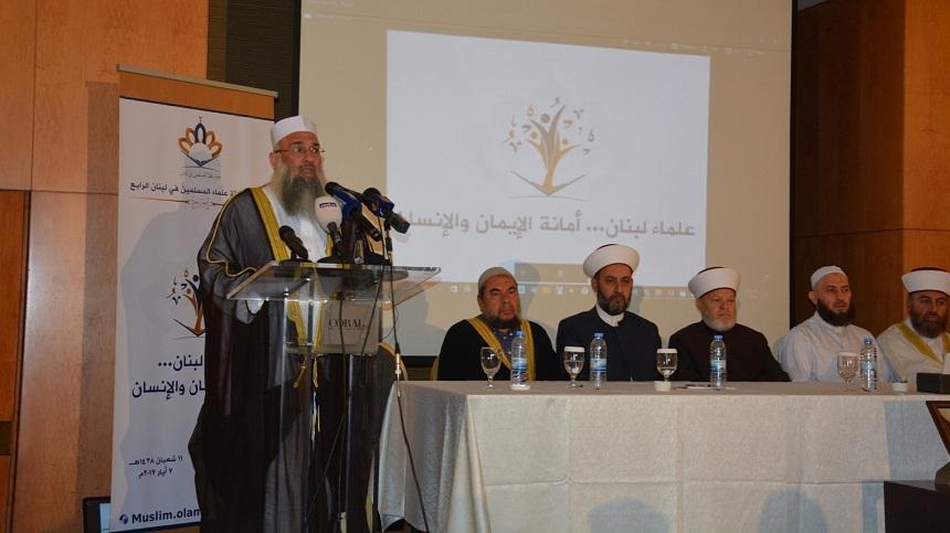 """""""علماء المسلمين"""" بلبنان تطالب بحرية الموقوفين الإسلاميين"""