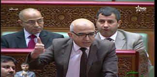 فيديو.. نبيل الشيخي يحتج على غياب الوزراء