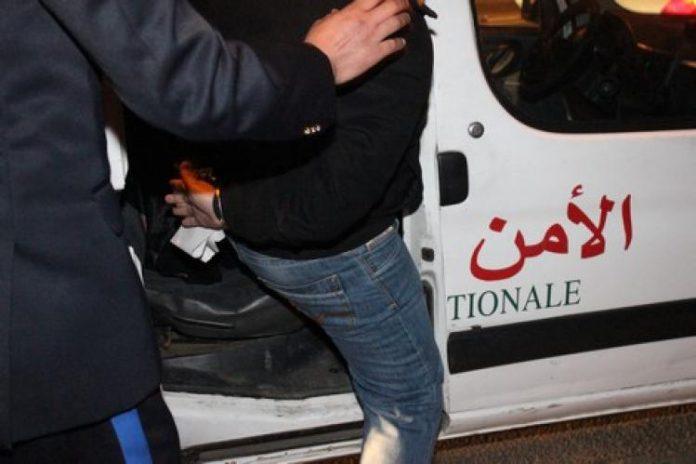 توقيف ضابط شرطة استعمل العنف والتهديد ضد جيرانه