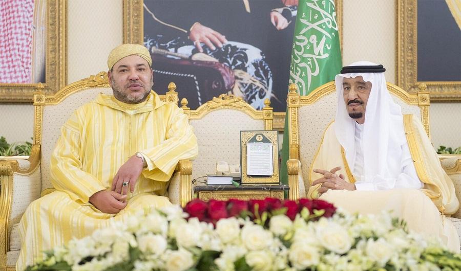 الملك يهنئ العاهل السعودي بمناسبة الذكرى الخامسة لاعتلائه عرش بلاده