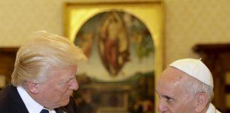 زوجة ترامب وابنته تغطيان رأسيهما أمام بابا الفاتيكان