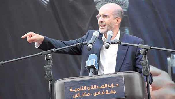 """الأزمي: """"المصباح"""" لن يبقى سجينا لمرحلة ما بعد الإنتخابات"""
