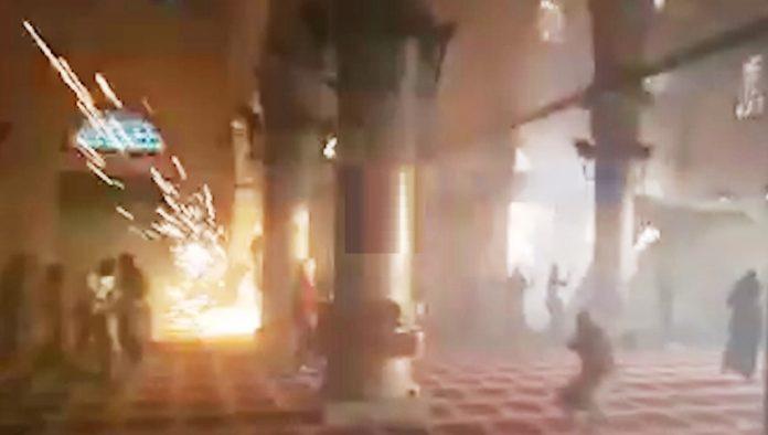 الاعتداءات على المسجد الأقصى المبارك خلال 2016-2017