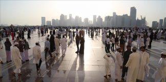 خطيب العيد في قطر: بلادنا تعيش في أمن عتيد وحكم رشيد وعيش رغيد