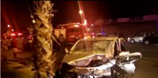 حادثة سير مؤلمة على الطريق السيار بين الخميسات ومكناس