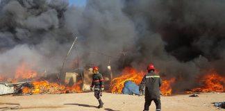 حريق بمحل لإصلاح الأفرشة بخريبكة يخلف خسائر مادية جسيمة