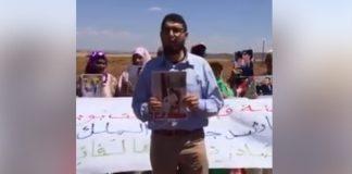 وقفة احتجاجية لقبيلة أيت بوبكر ضد قرار وزير الأوقاف للسيطرة على أراضيهم السلالية
