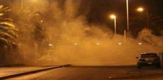 بالصور.. تدخل القوات الأمنية لمنع احتجاجات الحسيمة واستخدام القنابل المسيلة للدموع