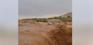 فيديو.. حملة مياه جارفة بالعيون الشرقية نواحي وجدة