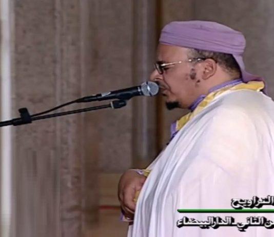 الشيخ القزابري يذكر أن تعبا في ركبته هو أحد أسباب غيابه عن إمامة التراويح في مسجد الحسن الثاني