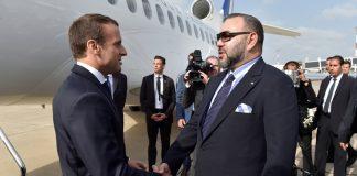 الرئيس الفرنسي إمانويل ماكرون يحل بالمغرب