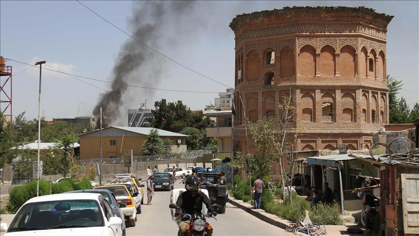 إصابة 12 شخصا في انفجار استهدف أحد مراكز شرطة المرور بأفغانستان