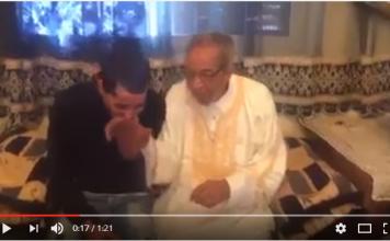 بعد حملة الاستنكار التي شنها المغاربة على مسخوط والديه الأخير يعتذر ويعلن توبته في فيديو جديد