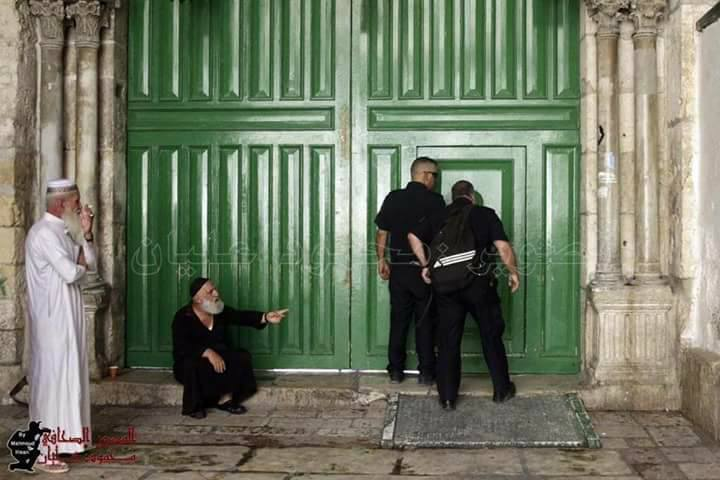 فيديو.. مؤذن الأقصى يرفع الأذان باكيا بعد منع الأذان داخل المسجد الأقصى وتعليق معتز مطر