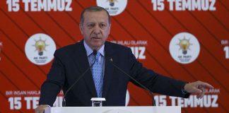 أردوغان: انقلاب 15 يوليوز أكبر محاولة خيانة واحتلال شهدتها تركيا
