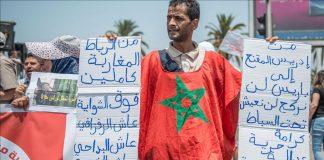 """آلاف المغاربة يشاركون في مسيرة للتضامن مع """"حراك الريف"""""""