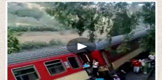 المكتب الوطني للسكك الحديدية: فيديو انقلاب القطار يعود إلى حادثة صيف 2012
