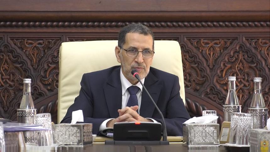 العثماني: الحكومة تصادق على مشاريع قوانين ومراسيم ذات أهمية اقتصادية واجتماعية